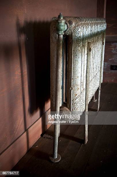 Old Radiator In Building