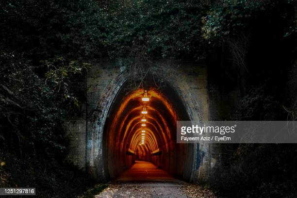 old railway tunnel - newcastle new south wales stock pictures, royalty-free photos & images