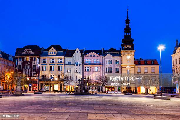 Old Rathaus on Market Square in Ostrava