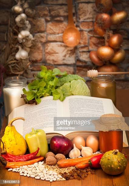 Old recipe book