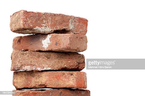 old red brick - brick stock pictures, royalty-free photos & images