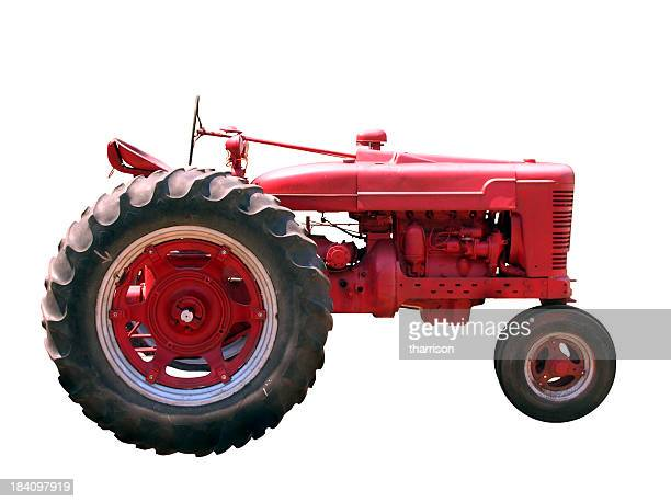 Old Red Tractor