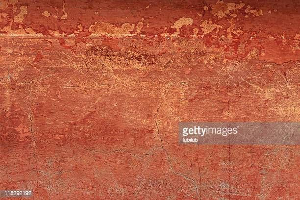 Old reddish grungy wall texture with cracks  (XXXL)