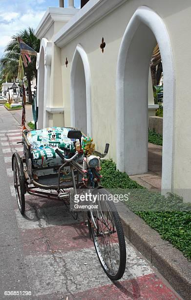old rickshaw - gwengoat stockfoto's en -beelden
