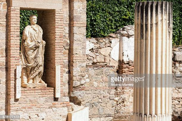 Old Roman Forum in Merida Spain