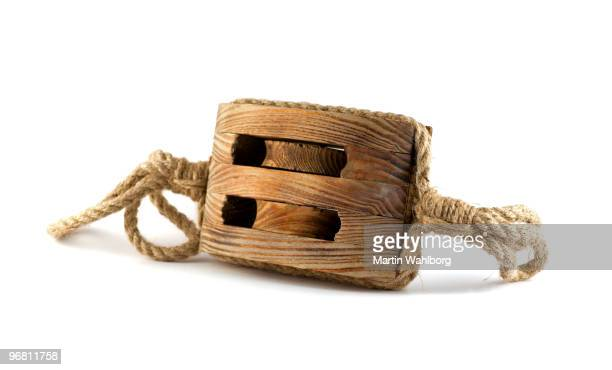 Old cuerda de polea