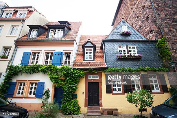 Old rowhouses in Heidelberg