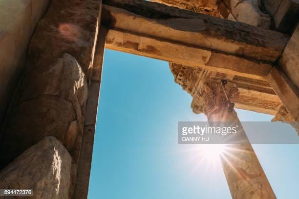 Old ruins in Ephesus