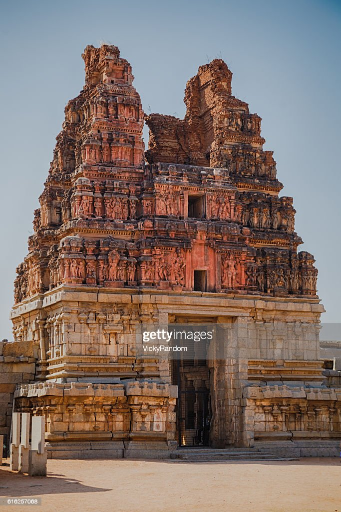 Old ruins of Hampi, Karnataka, India : Stock Photo
