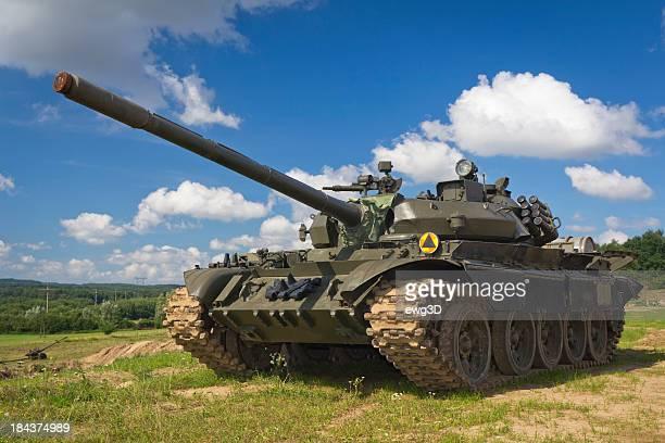 Alte Russische tank T-55