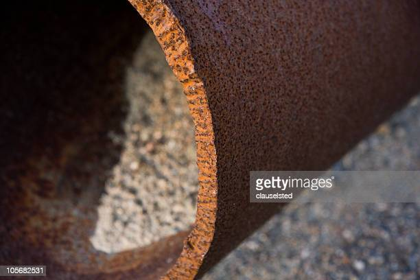 Old rusty pipe