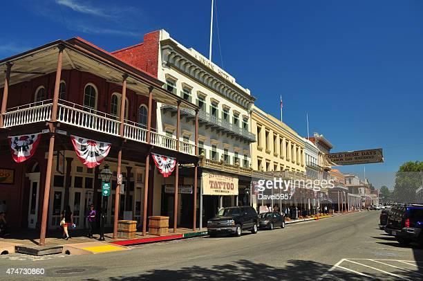 Old Sacramento street view