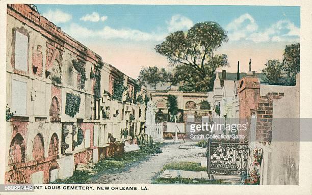 Old Saint Louis Cemetery, New Orleans, Louisiana, 1926.