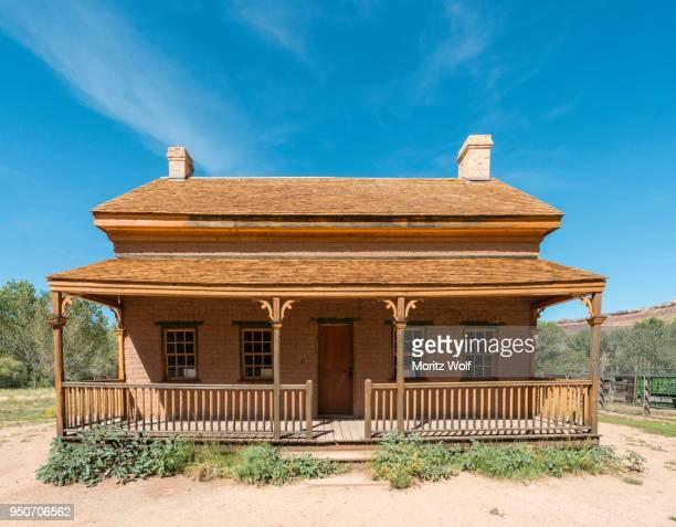 Old saloon, Ghost Town, Grafton near Springdale, Utah, United States