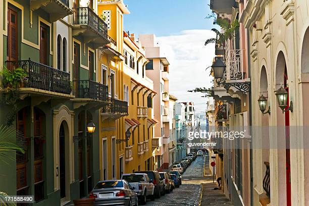old san juan - puerto rico stock pictures, royalty-free photos & images