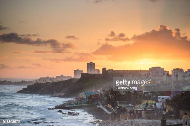 old san juan, puerto rico - puerto rico stock pictures, royalty-free photos & images