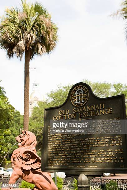 Old Savannah Cotton Exchange Memorial, Georgia