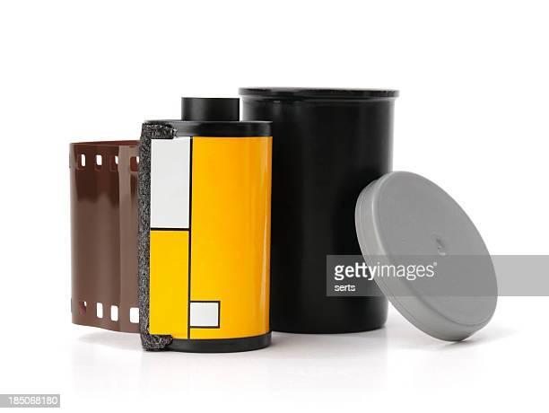 フィルムの容器 - キャニスター ストックフォトと画像