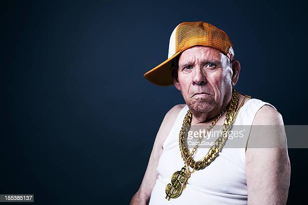 old school grandfather - hip hop music stock pictures, royalty-free photos & images