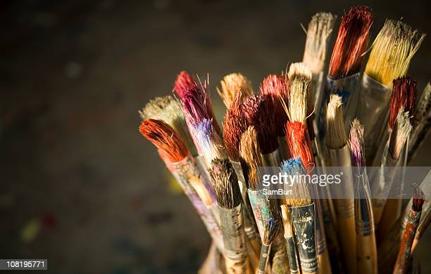 Old School Paintbrushes