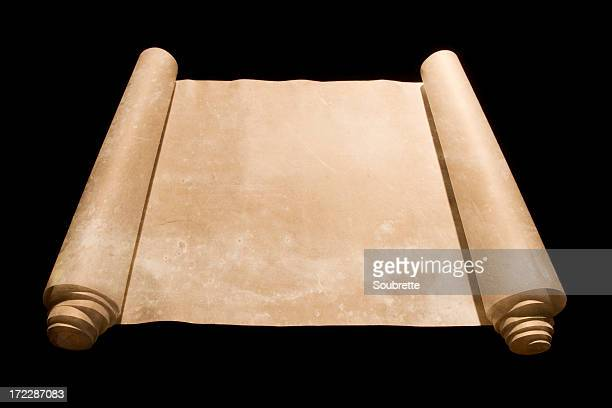 old scroll - torah stock photos and pictures