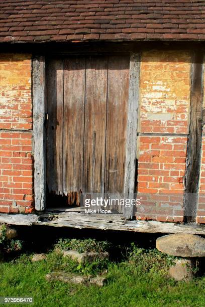 old shed cowdray park - cowdray park stock pictures, royalty-free photos & images