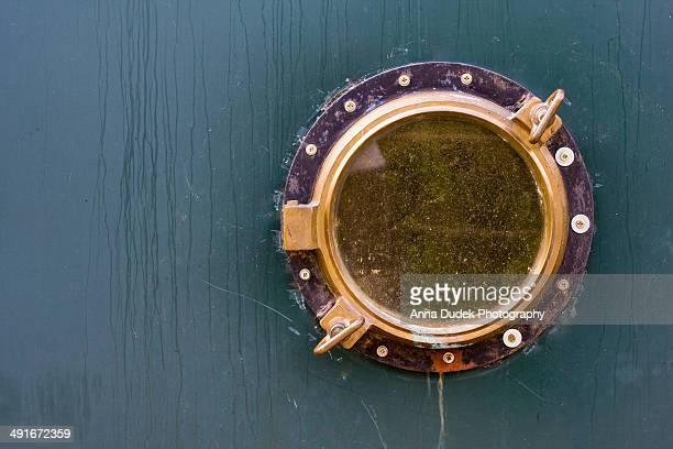 Old ship porthole