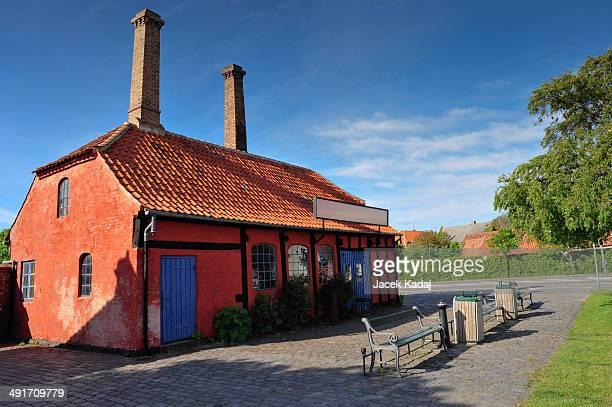 Old smithy on Bornholm island.