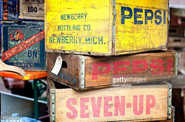 Old Soft Drink Crates