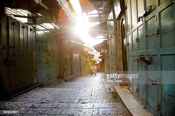 Old souk in Jerusalem
