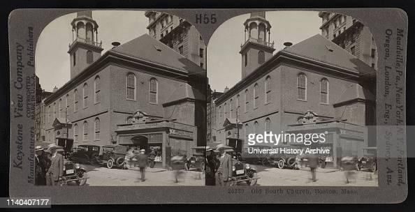 Old South Church, Boston, Massachusetts, USA, Keystone View