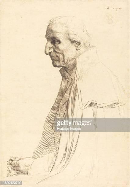 Old Spaniard . Artist Alphonse Legros.