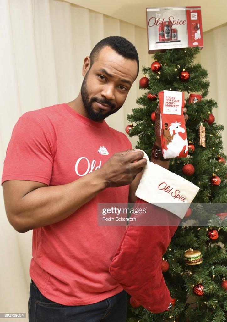 Old Spice Guy Isaiah Mustafa Hosts Holiday Gift Showcase