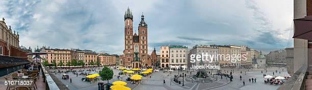Old Square in Krakow, Poland