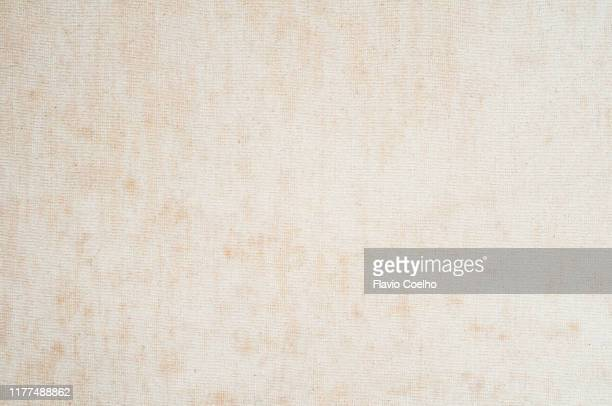 old stained blank canvas background - canvas fabric stock pictures, royalty-free photos & images
