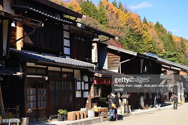 Old Station Town of Central Japan