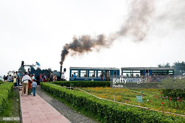 Old Steam Toy Train In Darjeeling India