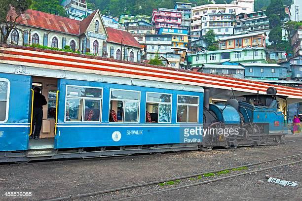 Old Steam Train in Darjeeling, West Bengal, North India