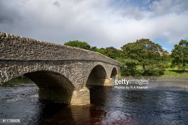 Old stone bridge in Swaledale, Yorkshire Dales, England