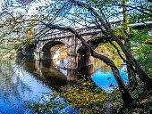Old Stone Bridge on Buck Road over Neshaminy Creek, Bucks County, Pennsylvania