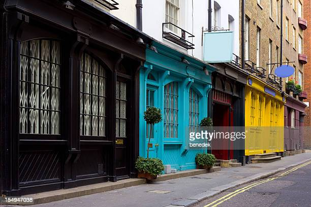 Old Store Fronts, London, England, UK