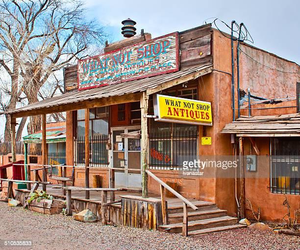 Old almacenar en Wild West Town de Los Cerrillos