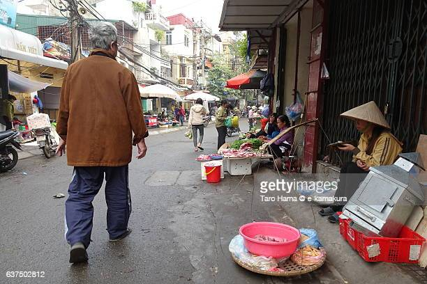 Old street in Hanoi