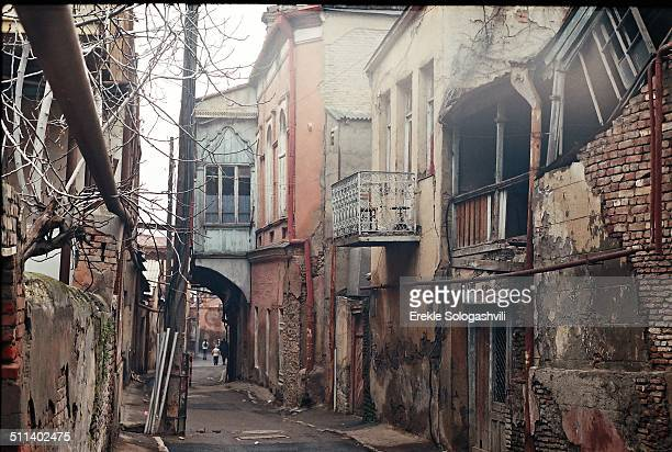 Old street in Tbilisi