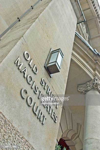 old street magistrates - old bailey stock photos and pictures