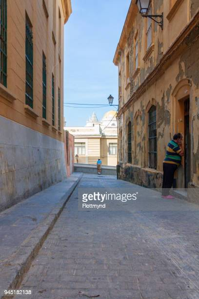 Old streets of Cadiz, Spain