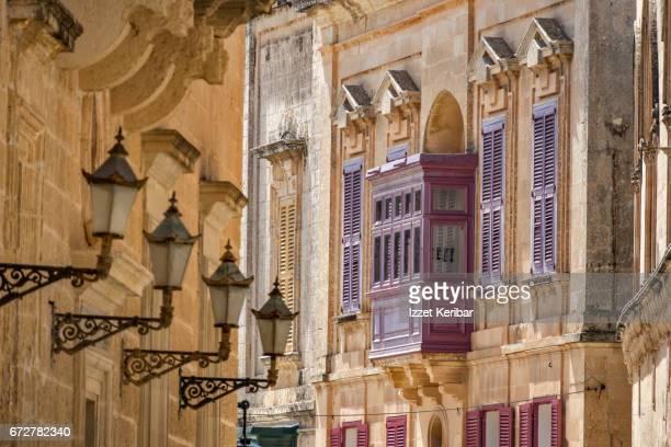 Old streets of Mdina, Malta