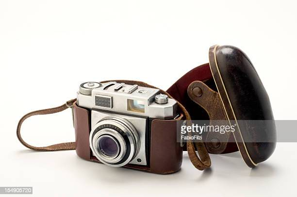old style camera - fabio filzi stock photos and pictures