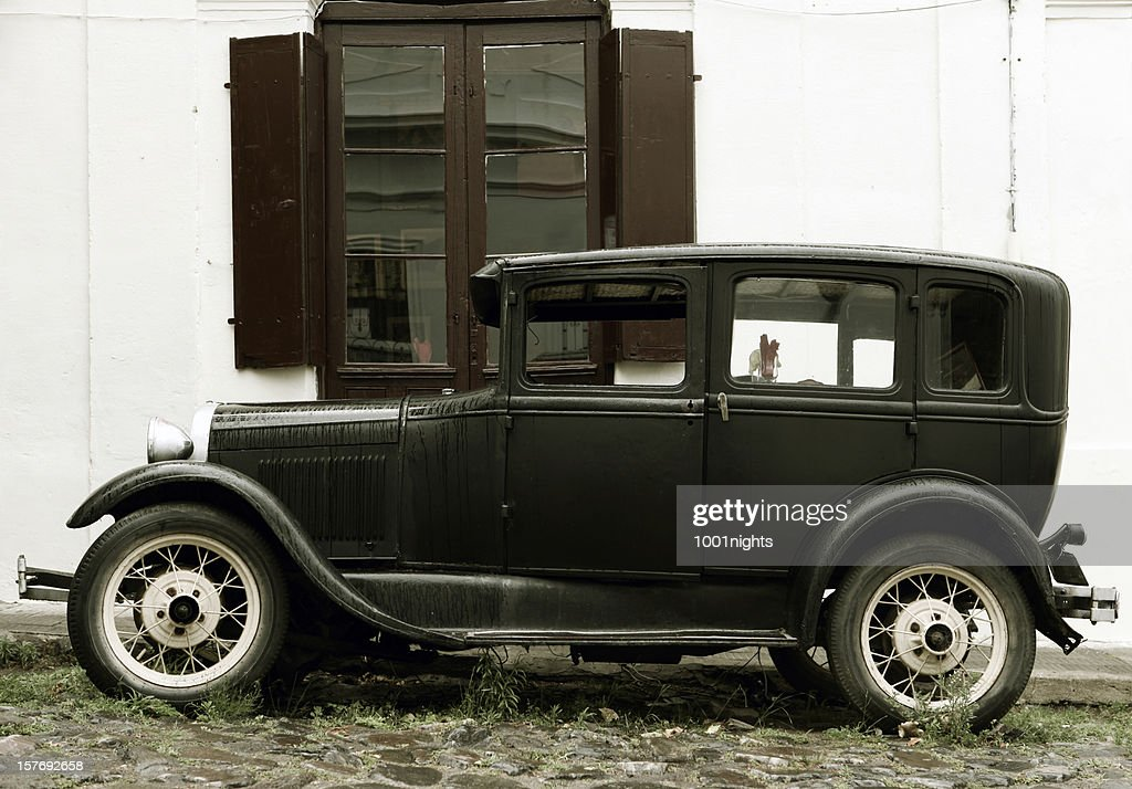 Old Style Car Stock Photo | Getty Images
