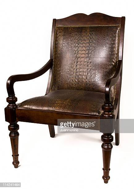 Old Style Leather Chair